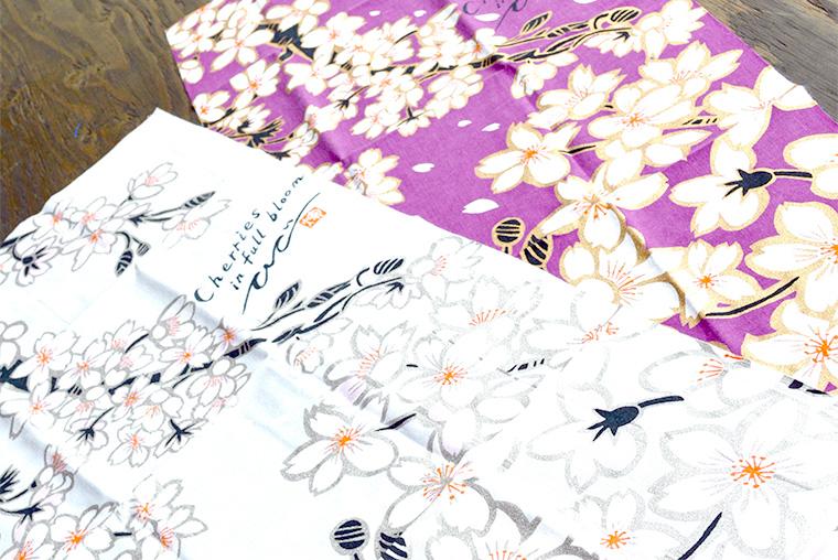 キーヤンスタジオ 手ぬぐい 桜