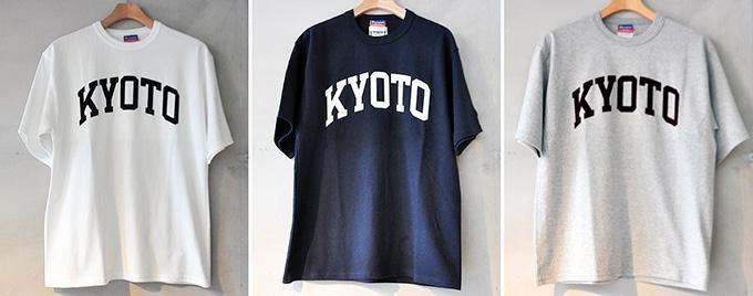 KYOTOロゴTシャツ