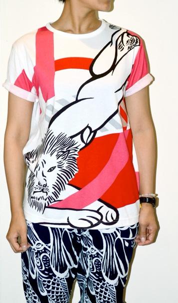 ポップアートTシャツ