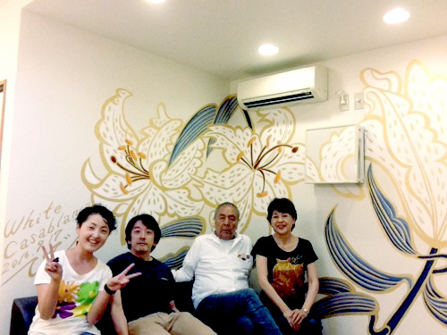 壁画制作京都市トミイ歯科