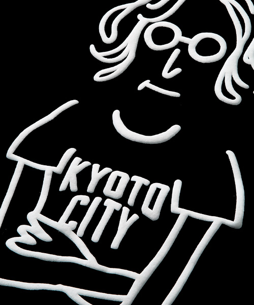 KYOTO CITY キャラクターTシャツ