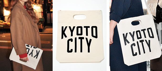 KYOTO CITY ショルダートートバッグ
