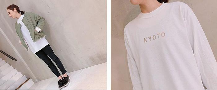 CENTER KYOTO Tシャツ