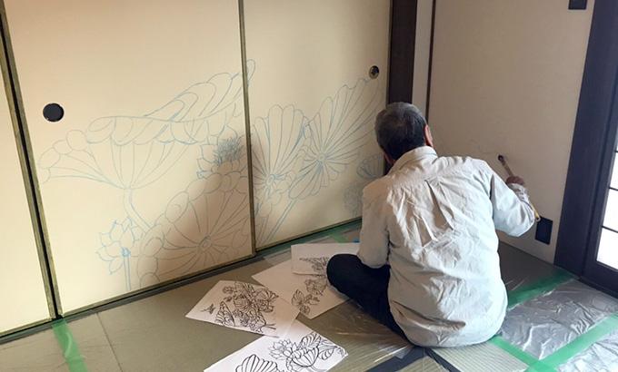 香川県 個人様邸 下絵