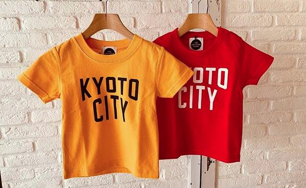 KYOTO CITY キッズTシャツ