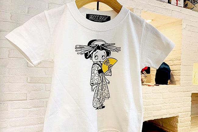 ベティちゃんキッズTシャツ