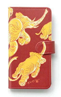 手帳型ケース / Yellow Elephants