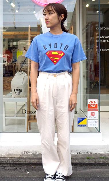 スーパーマンコラボTシャツ